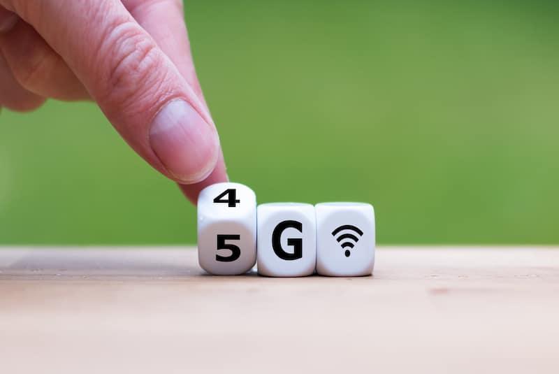 5G - fibre optique