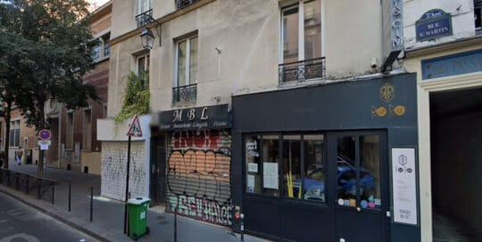 Fonds de Commerce Restaurant en Liquidation Judiciaire - Rue Saint Martin 75003 Paris